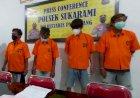 Oknum ASN dan Tiga Saudaranya Ditangkap Polisi Saat Pesta Sabu