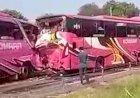 Bus Pengangkut Rombongan Ziarah Terlibat Tabrakan Beruntun, 1 Orang Meninggal